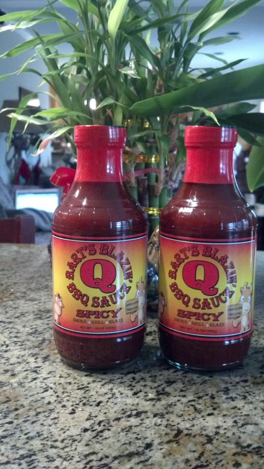 Spicy BBQ Sauce - 12-11-12