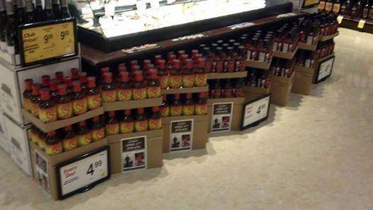 BBQ Sauce in Safeway - 4-11-14